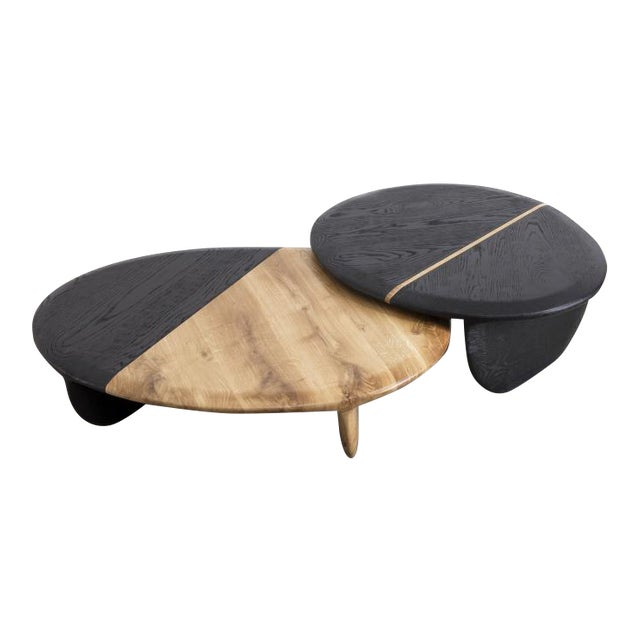 Gal Gaon (Israeli, B.1967) Nesting Side Tables, 2017 For Sale