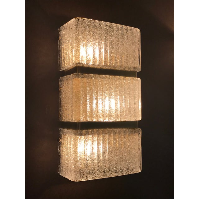 Mazzega Rectangular Sconce For Sale In Palm Springs - Image 6 of 11