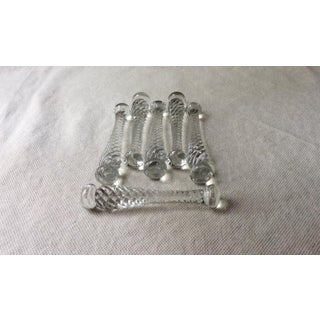 1920s Antique Glass Cocktail Muddlers - Set of 6 Preview