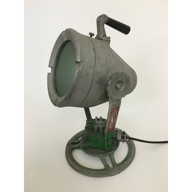 Industrial Spotlight Lamp For Sale - Image 4 of 6