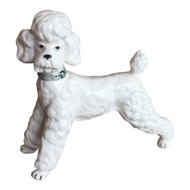Vintage Ceramic Staffordshire Style Poodle Dog Figurine - Image 1 of 11