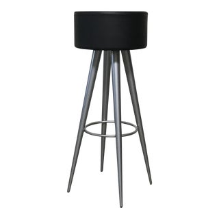 Zeus 'Golia' Industrial Leather Stool by Maurizio Peregalli For Sale
