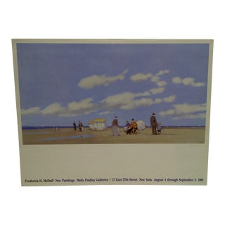 """1981 Frederick H. McDuff """"Wally Findlay Galleries """" Gallery Poster For Sale"""