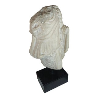 19th Century Italian Stone Torso Fragment of a Goddess