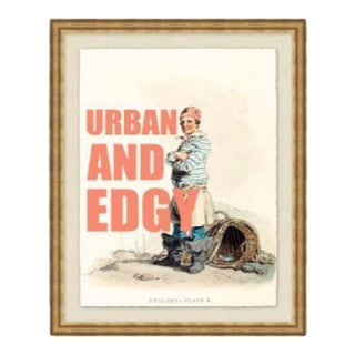 """""""Urban and Edgy"""" Framed Print by Jo Sampson"""