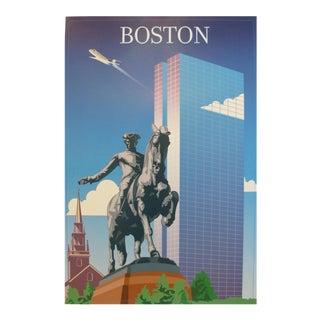 2005 Contemporary Travel Poster, Boston For Sale