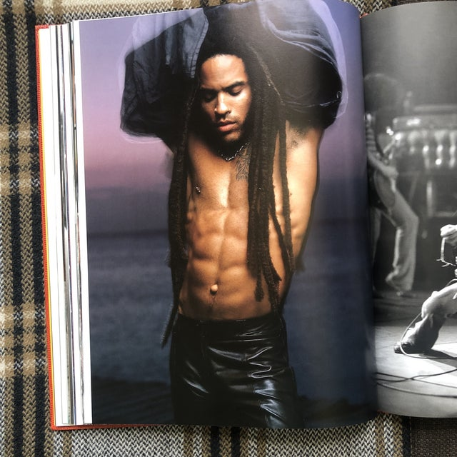 Lenny Kravitz by Mark Seliger Hardcover Book For Sale In Miami - Image 6 of 7
