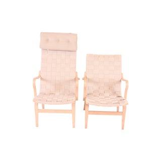 "Bruno Mathsson ""Eva"" and ""Pernilla"" Chairs"