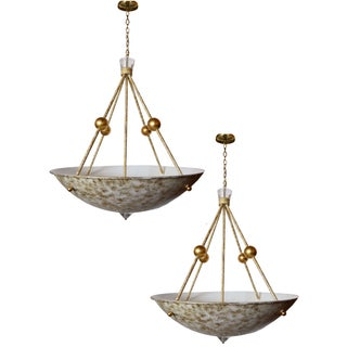 Decorative Chandeliers - a Pair For Sale