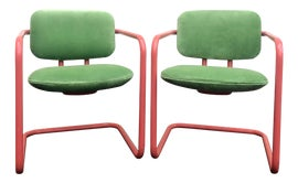 Image of Green Side Chairs