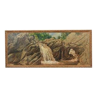 Roxbury Falls by Henry Ernest Schnakenberg For Sale
