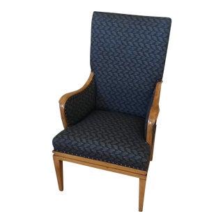 Vintage Blue Arm Chair For Sale