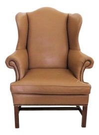 Image of Italian Wingback Chairs