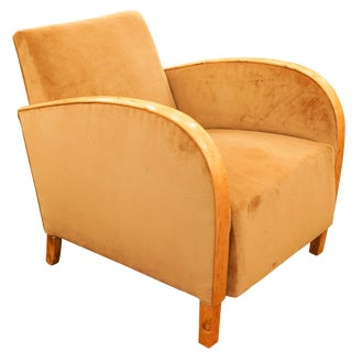 Art Deco Club Chair For Sale