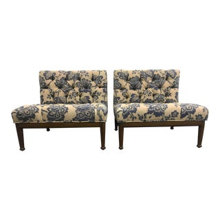 Modern Sabin San Ysidro Chairs- A Pair For Sale