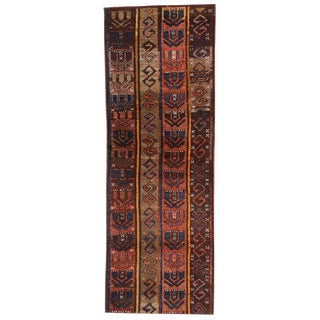 20th Century Turkish Oushak Hallway Runner - 2′ × 5′7″ For Sale