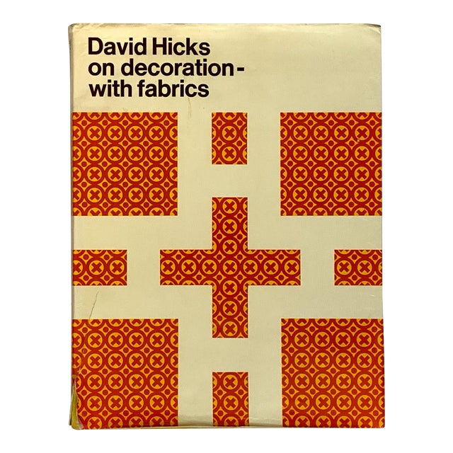 """David Hicks on Decoration With Fabrics"" 1st Edition David Hicks Book, 1972 For Sale"