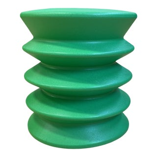 Room & Board Green Ergo Stool For Sale