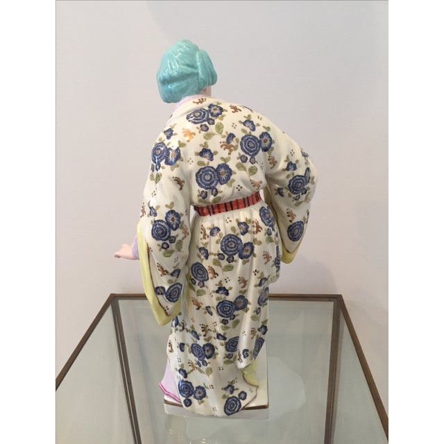 Chinoiserie Figurines by Chelsea House - Pair - Image 9 of 10