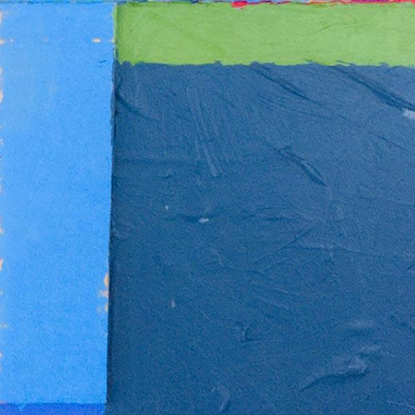 Contemporary AbEx painting. Part of a series painted in 2021. Acrylic and cardboard on wood panel.