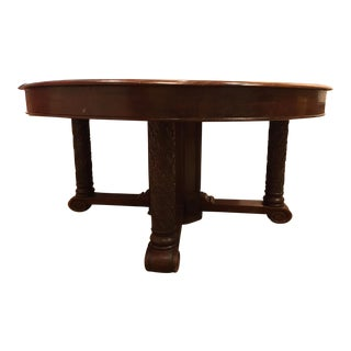 Eley Wooden Dining Table