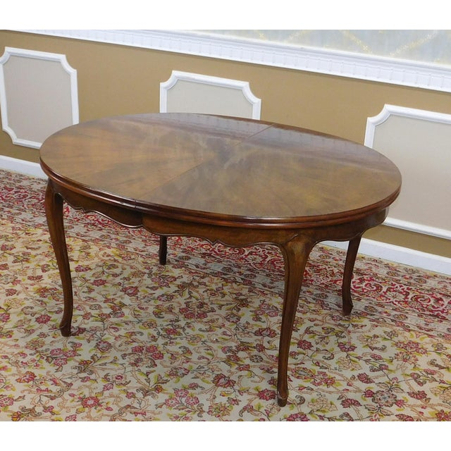 Dining Room Furniture Michigan: Fruitwood Cherry Oval French Provincial Style Baker