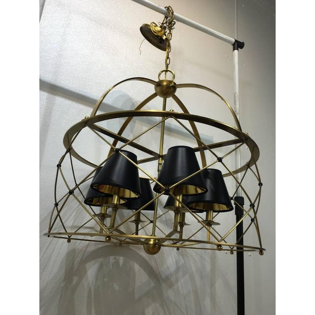 French modern royre style drum chandelier chairish french french modern royre style drum chandelier for sale image 3 of 8 aloadofball Gallery