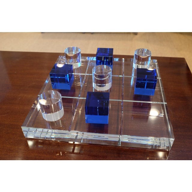 Modern Crystal Game Board For Sale - Image 11 of 11