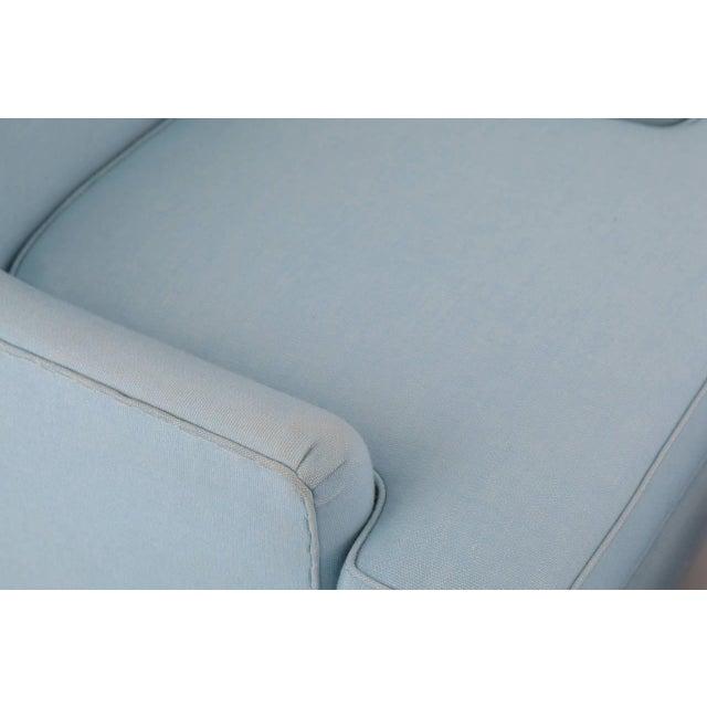 Edward Wormley Edward Wormley Dunbar Lounge Chair and Ottoman For Sale - Image 4 of 8
