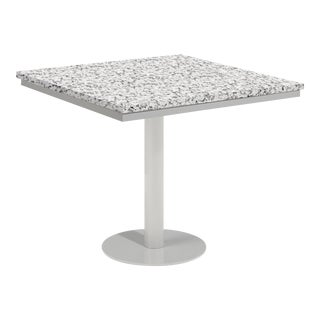 "34"" Square Outdoor Bistro Table, Ash For Sale"