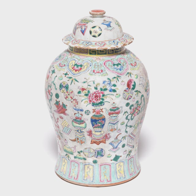 In the early 20th century, Chinese ceramists experimented with a rainbow of vibrant, colorful glazes that brought new...