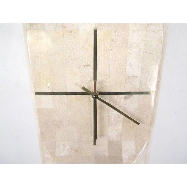 Maitland-Smith Style Freestanding Clock For Sale - Image 5 of 10
