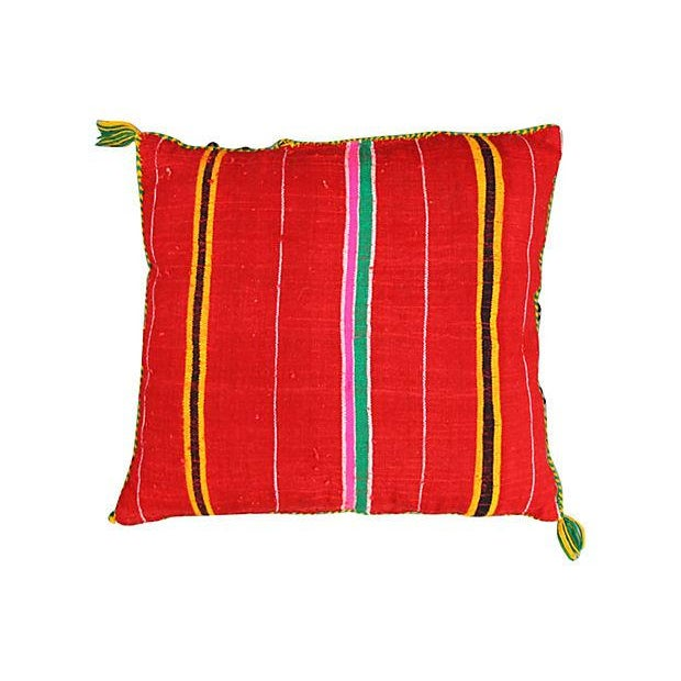 Colorful Diamond Moroccan Pillow Sham - Image 2 of 2