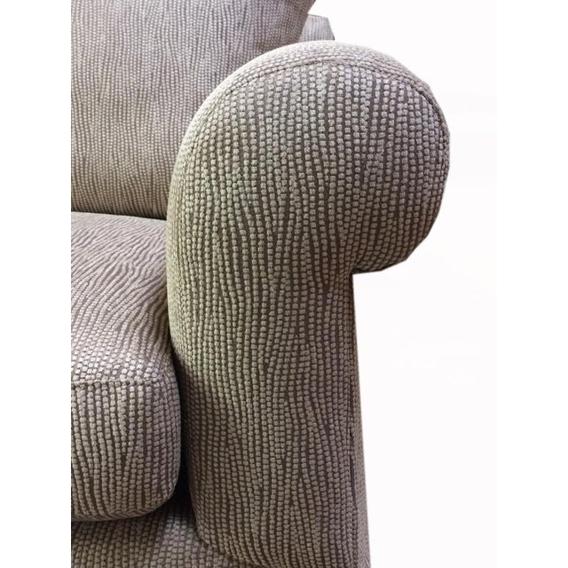 Newly Upholstered 2016 Love Seat With New Cushions For Sale In San Francisco - Image 6 of 6