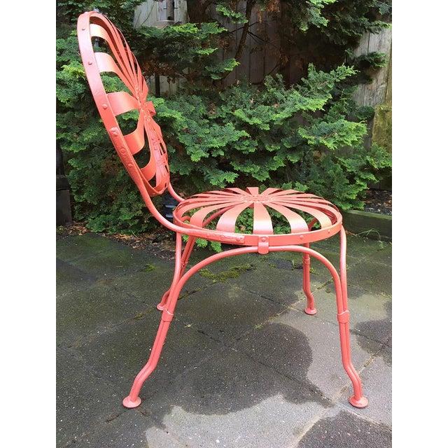 Francois Carre Francois Carré Sunburst Patio Furniture For Sale - Image 4 of 13