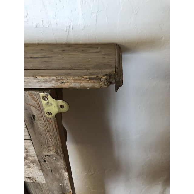 Late 19th Century English Pine Mantel For Sale In Naples, FL - Image 6 of 7