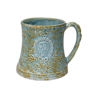 1934 Abdicated King Edward VIII Coronation Tankard For Sale