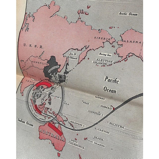 Vintage World War II Political Newspaper Art Print - Image 5 of 6