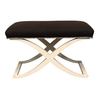 Modern Century Furniture Ottoman For Sale
