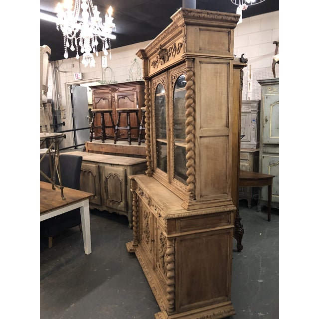 Late 19th Century 19th Century French Louis XIII Bibliotheque For Sale - Image 5 of 6