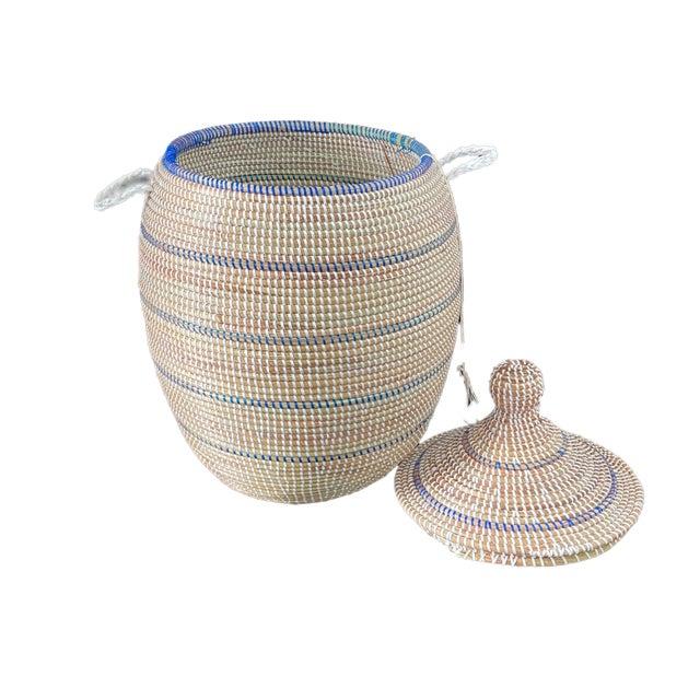2000 - 2009 Basket With Lid Senegal West Africa For Sale - Image 5 of 8