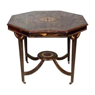 English, Rosewood Table from the 19th Century For Sale