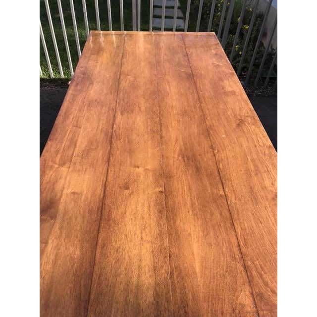 A lovely walnut table with a timeless appearance & warm tones. We have used it as a desk in our home office as well as a...