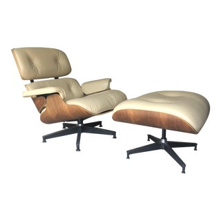 Eames Lounge Chair & Ottoman For Sale