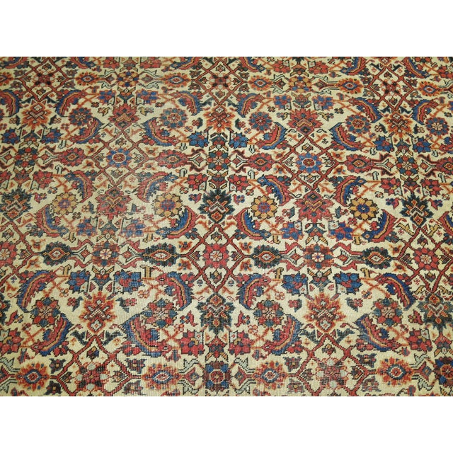 Textile Mahal Sultanabad Rug. 10'8'' X 14'2''. For Sale - Image 7 of 9