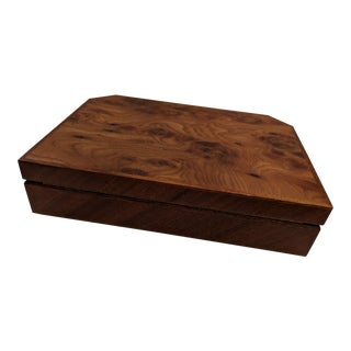 Italian Agresti Briarwood Jewelry Box