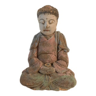 Wood Medicine Buddha For Sale