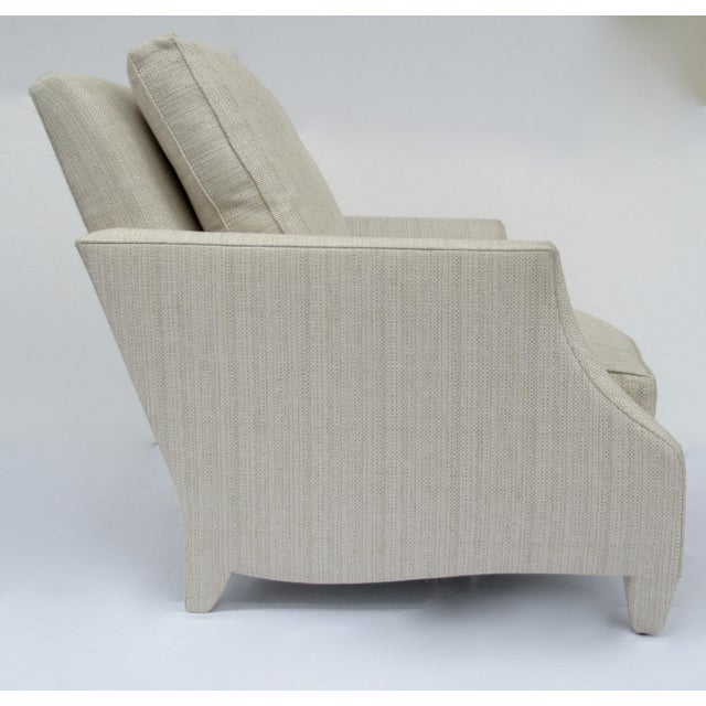 Donghia Ogee Club Chair and Ottoman For Sale In West Palm - Image 6 of 13
