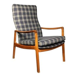1950s Vintage Ole Wanscher for France & Søn, Denmark Teak Armchair For Sale