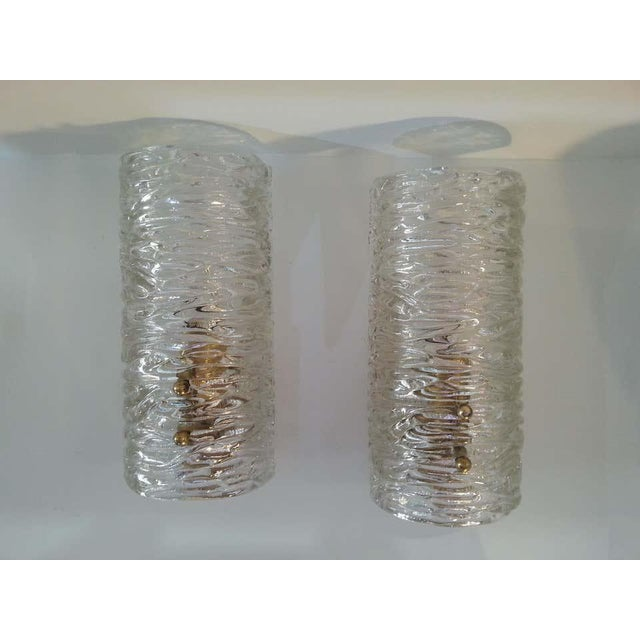 Mid-Century Modern Murano Kalmar Sconces - a Pair For Sale - Image 10 of 10